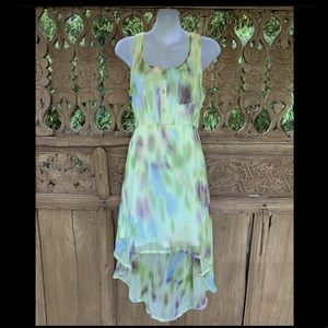 Dead-Stock BNWT AVOCADO Sheer Rainbow HiLow Dress
